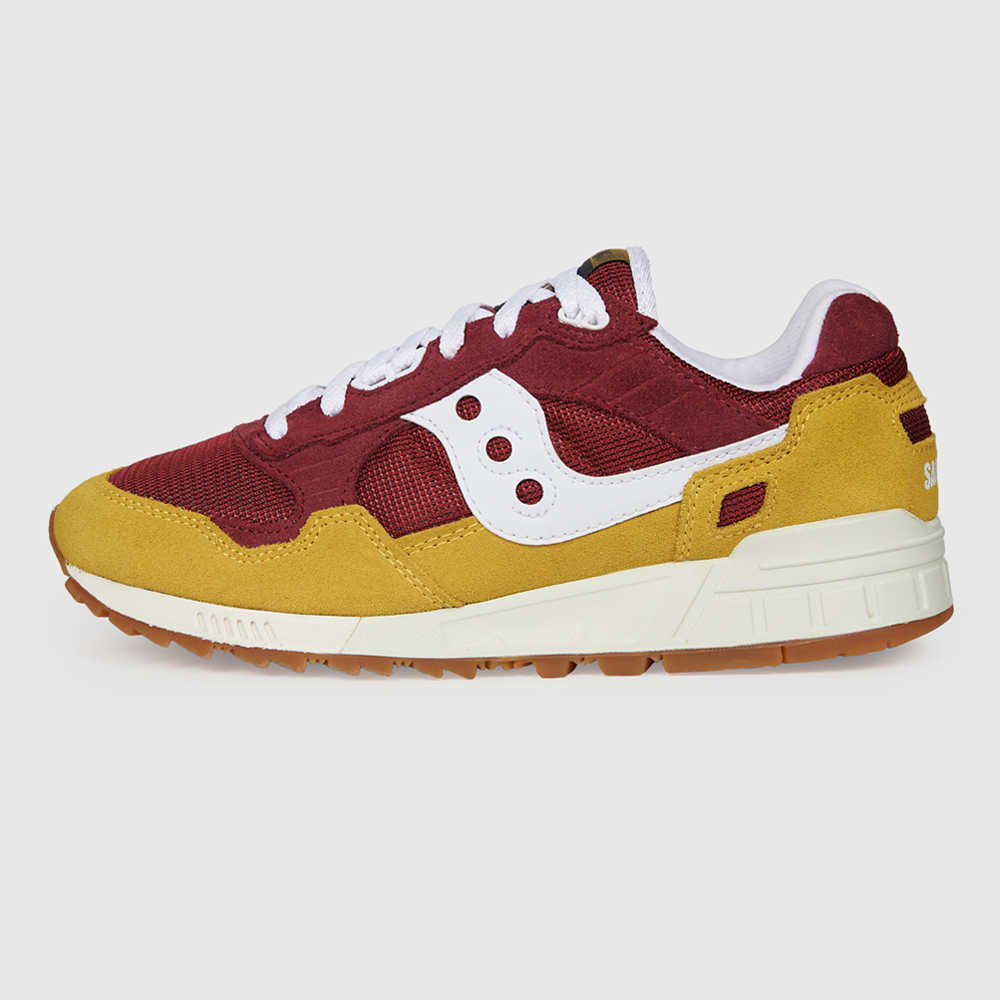 SAUCONY SHADOW 5000 YELLOW/MARRON/WHITE