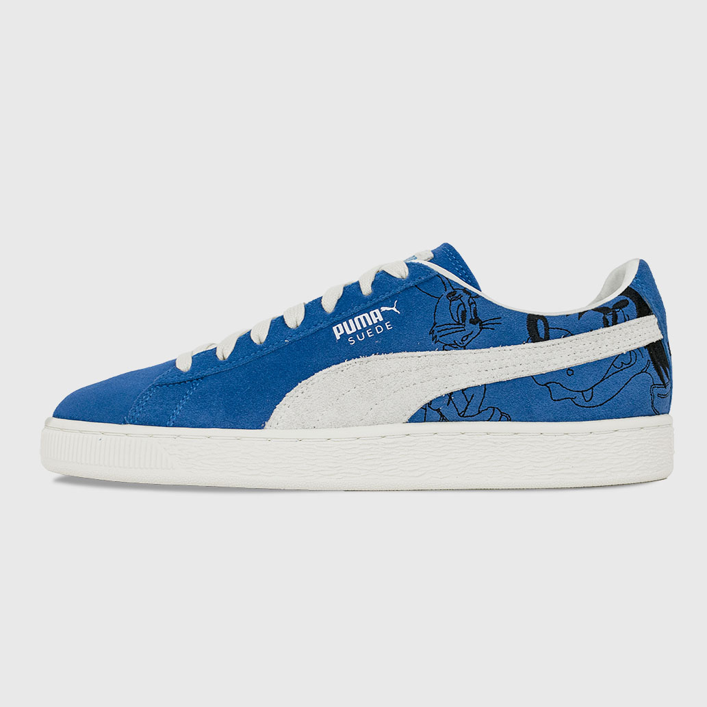 PUMA x Союзмультфильм Suede Wolf & Hare Strong Blue-Vaporous Grey