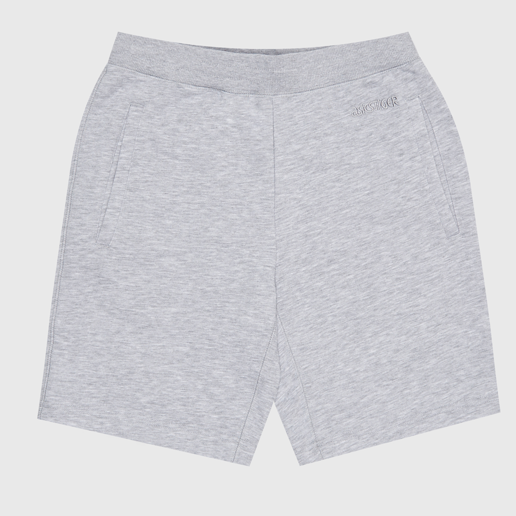 ШОРТЫ ASICS OP SWEAT SHORTS MID GREY HEATHER