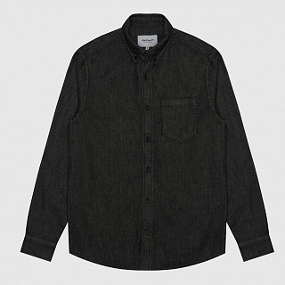 РУБАШКА CARHARTT WIP L/S CIVIL SHIRT STRETCH DENIM
