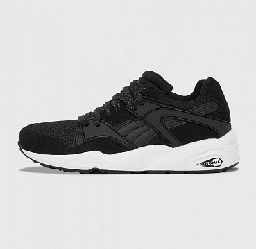 PUMA  BLAZE  BLACK WHITE QUIET SHADE