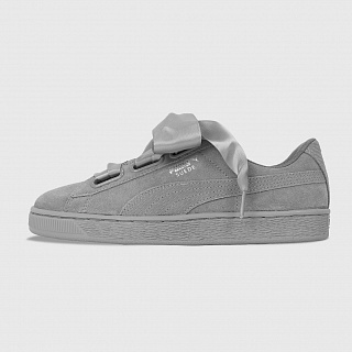 PUMA SUEDE HEART PEBBLE WMNS ROCK RIDGE