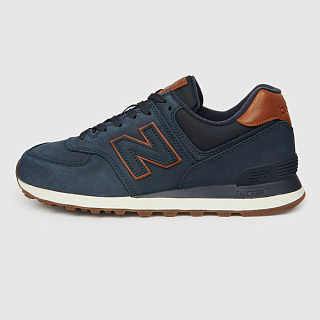 NEW BALANCE ML574NBD/D DARK BLUE/BROWN