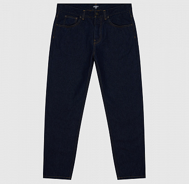ДЖИНСЫ CARHARTT WIP NEWEL PANT REGULAR BLUE (RINSED)