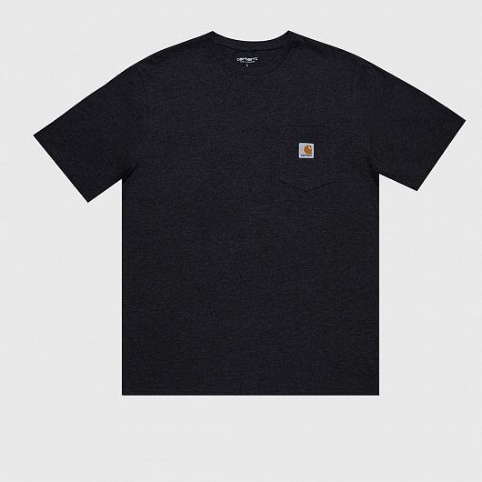 Футболка CARHARTT WIP S/S BLACK HEATHER Черный