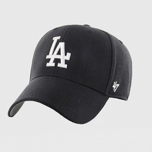 Бейсболка '47 BRAND MVP LOS ANGELES DODGERS Черный