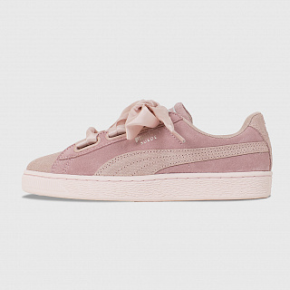 PUMA SUEDE HEART PEBBLE WMNS PEACH BEIG