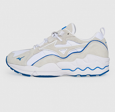 MIZUNO WAVE RIDER 1 PREMIUM SEASHORE WHITE/BLUE