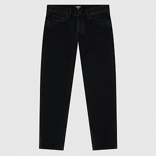 ДЖИНСЫ CARHARTT WIP NEWEL PANT REGULAR BLACK (STONE WASHED)