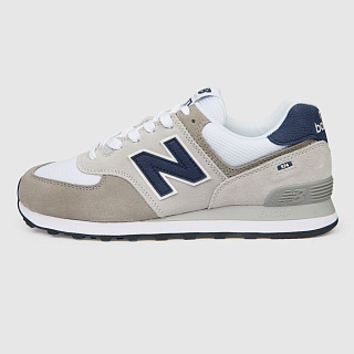 NEW BALANCE ML574EAG/D GREY/WHITE