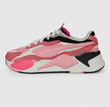 PUMA RS-X3 PUZZLE RAPTURE ROSE/PEONY