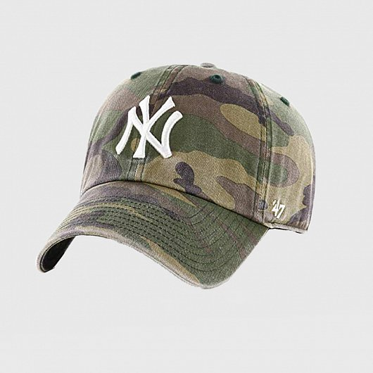 БЕЙСБОЛКА '47 BRAND CLEAN UP NEW YORK YANKEES CAMO