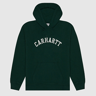 ТОЛСТОВКА CARHARTT WIP HOODED UNIVERSITY SWEATSHIRT GREEN
