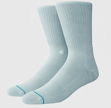 STANCE UNCOMMON SOLIDS ICON PASTEL BLUE