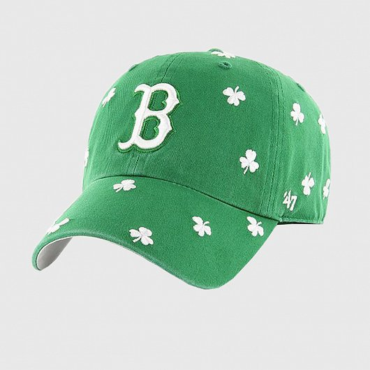 Бейсболка '47 BRAND CLEAN UP BOSTON RED SOX KELLY