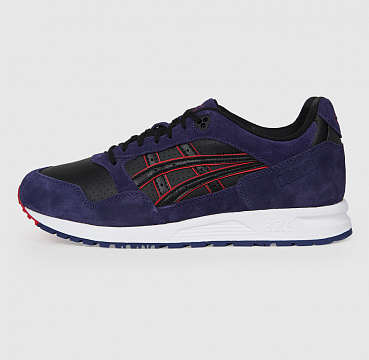 ASICS GEL SAGA BLACK/PURPLE MATTE