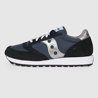 SAUCONY JAZZ ORIGINAL NAVY/SILVER