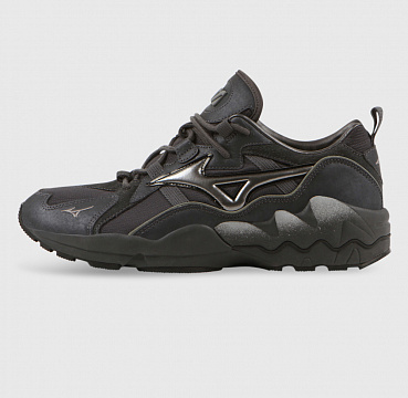 MIZUNO WAVE RIDER 1 TECH DARK SHADOW