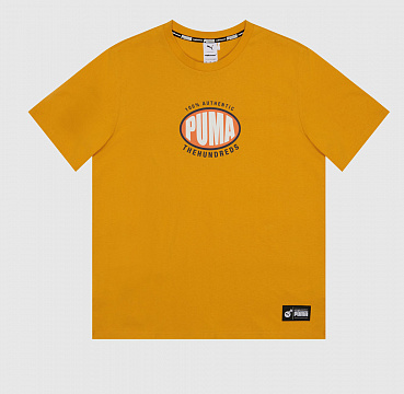 ФУТБОЛКА PUMA X THE HUNDREDS TEE GOLDEN ROAD