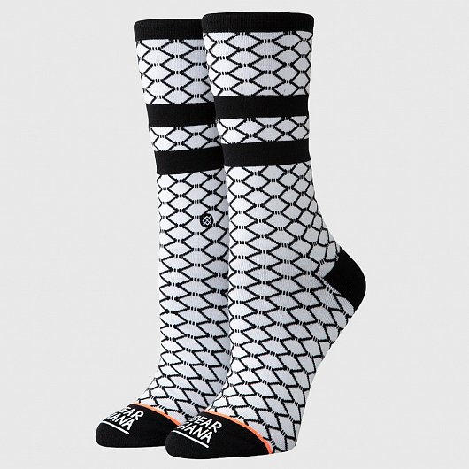 STANCE FISH NETS WHITE