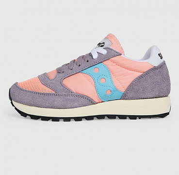 SAUCONY JAZZ  VINTAGE PEACH/GREY/BLUE