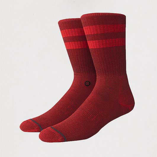 STANCE UNCOMMON SOLIDS JOVEN PRIMARY RED