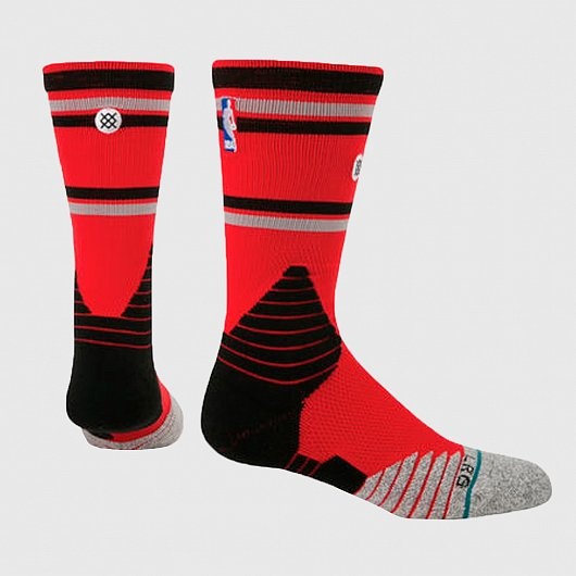 STANCE  NBA ONCOURT CORE CREW RAPTORS Красный