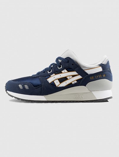 Кроссовки ASICS GEL-Lyte III GS navy/white C5A4N - 5001