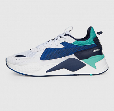 PUMA RS-X HARD DRIVE WHITE/GALAXY BLUE