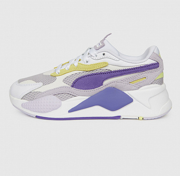 PUMA RS-X3 MESH POP WN'S WHITE/PURPLE CORALLITES