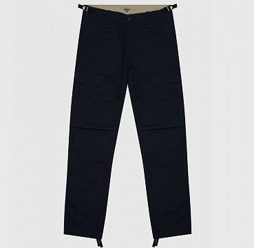 БРЮКИ CARHARTT WIP AVIATION PANT DARK NAVY (RINSED)