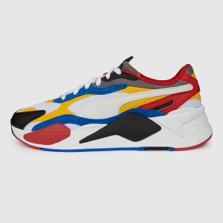 PUMA RS-X3 PUZZLE WHITE/SPECTRA YELLOW