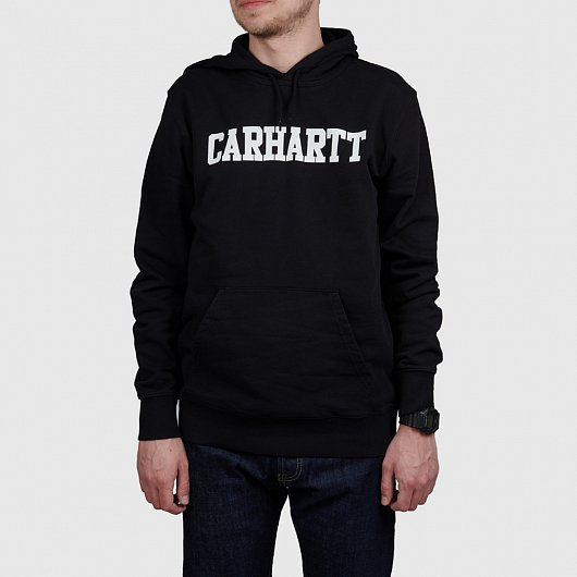 Толстовка CARHARTT WIP HOODED COLLEGE Черный